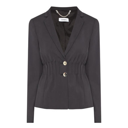 Parere Single-Breasted Blazer Black