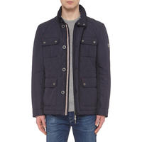 Quilted Ultrasonic Jacket Navy