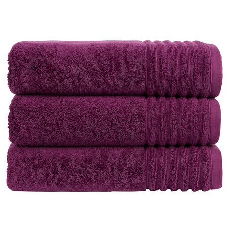 Adelaide Towel Aubergine Purple