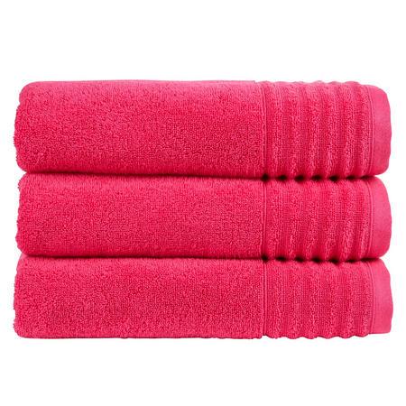Adelaide Towel Raspberry Red