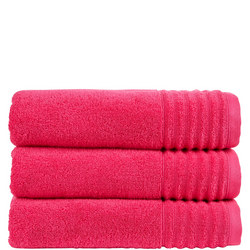 Adelaide Towel Raspberry Red