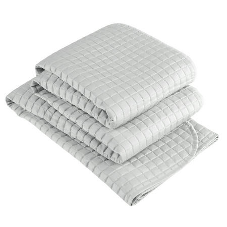 Metropolitan Throw Platinum Silver-Tone