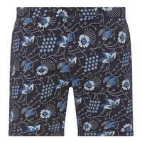 Printed Chino Shorts Navy
