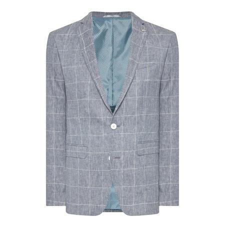 Torino Check Blazer Blue