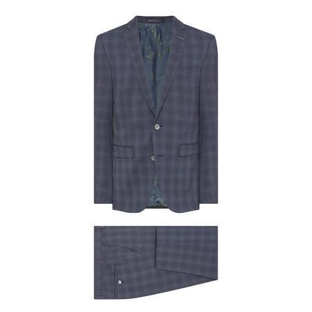 X-Slim Fit Suit Blue