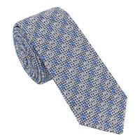 Woven Tie Blue