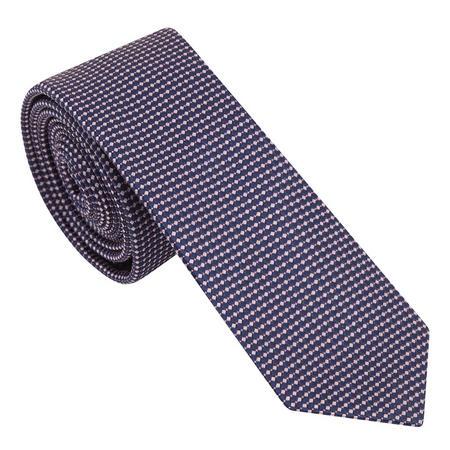 Pin Dot Pattern Tie Pink