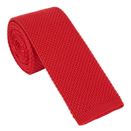 Crew Neck Sweater Red