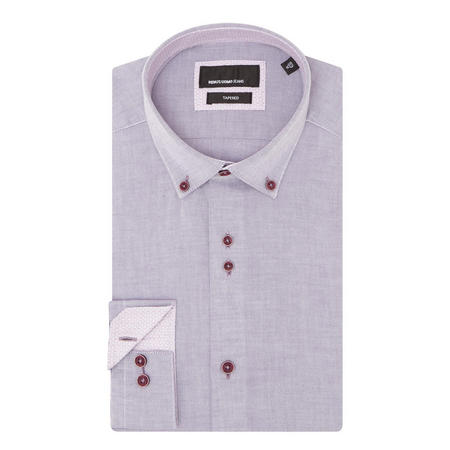 Tapered Shirt Purple