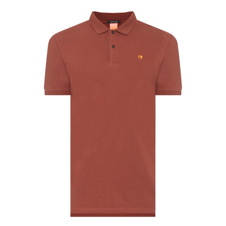 Classic Piqué Polo Shirt Red