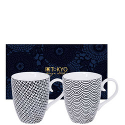 Nippon Mug Set Wave & Raindrop