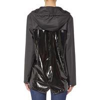 Glossy Waterproof Jacket Black