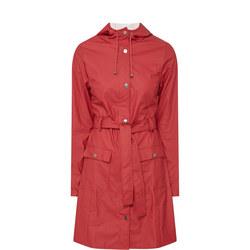 Curve Rain Jacket Red