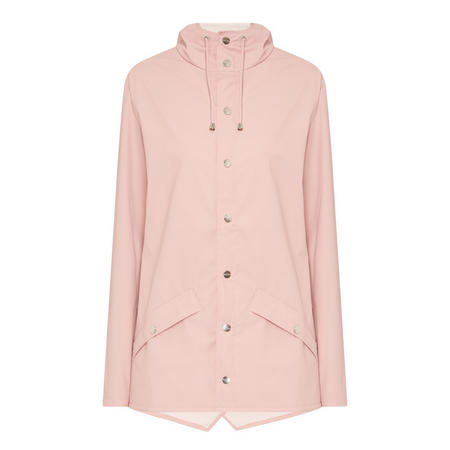 Short Hooded Jacket Pink