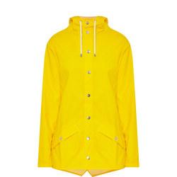 Short Hooded Jacket Yellow
