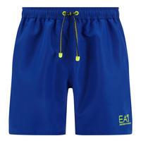 Fluorescent Logo Swim Shorts