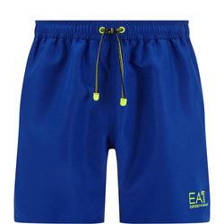 Fluorescent Logo Swim Shorts