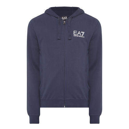 Core ID Zip-Through Hoody Navy