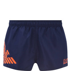 Eagle Print Swim Shorts