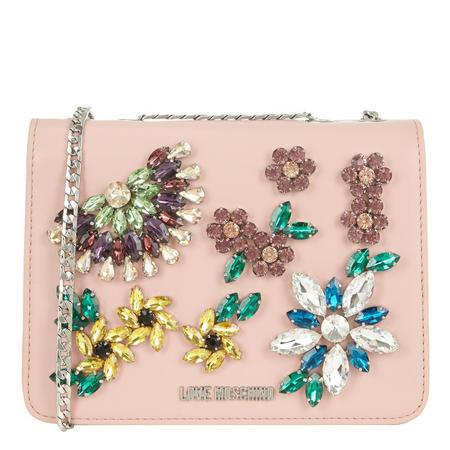 Embellished Shoulder Bag Pink