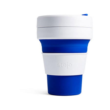 Collapsible Cup 12oz Blue