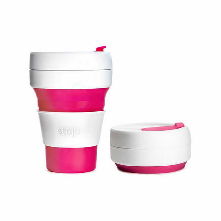 Collapsible Cup Pink 355ml