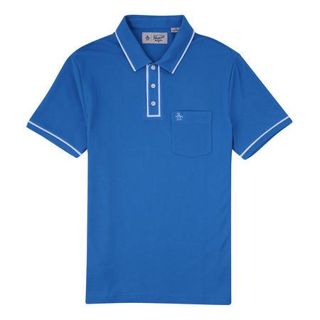 The Earl Polo Shirt Blue