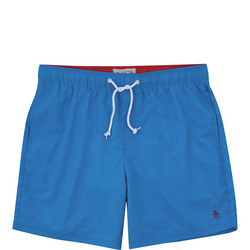 Quick Dry Daddy Swim Shorts Blue