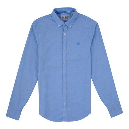 New Oxford Stretch Fit Shirt Blue