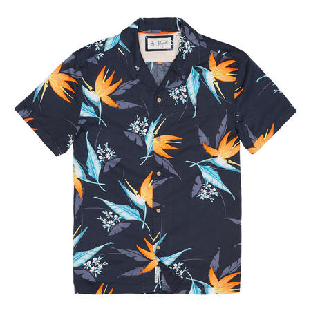 Tropical Print Shirt Multicolour