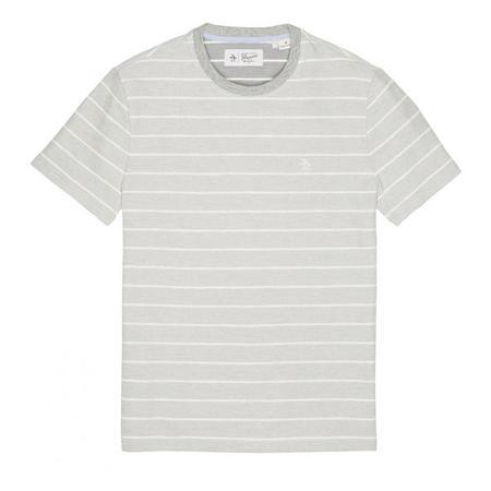 Reverse Stripe T-Shirt Grey