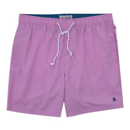 Quick Dry Daddy Swim Shorts Pink