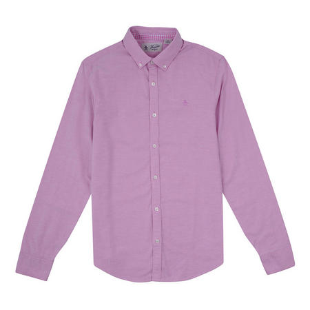 New Oxford Stretch Fit Shirt Pink