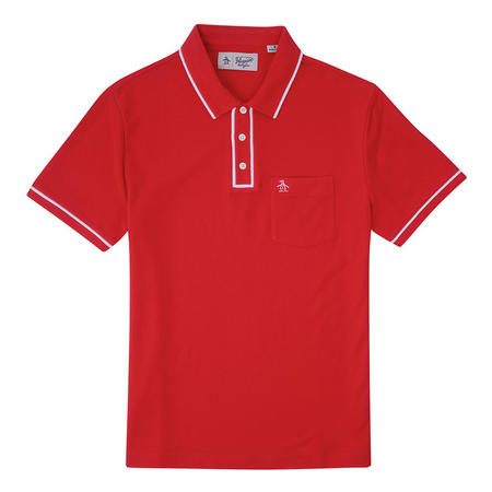 The Earl Polo Shirt Red