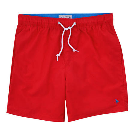Quick Dry Daddy Swim Shorts Red