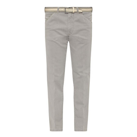 Chicago Belted Trousers Grey
