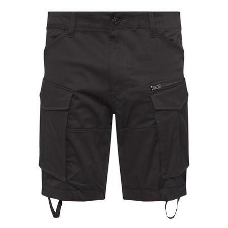 Rovic Relaxed Fit Shorts Black