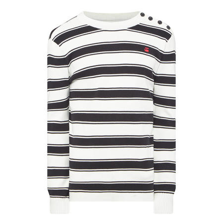 Stripe Logo Sweater Multicolour