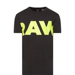 Vilsi Big Logo T-Shirt Black