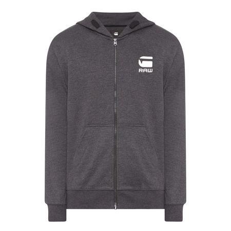 Doax Zip-Through Hoody Grey