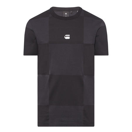 Square Logo T-Shirt Black