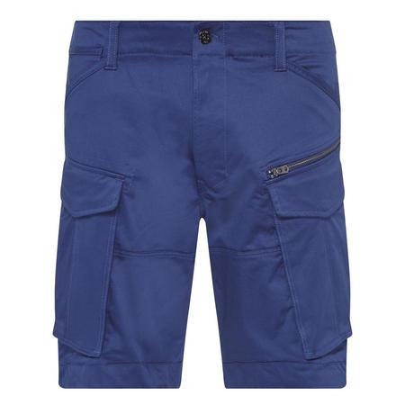 Six-Pocket Shorts Blue