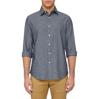 Core Chambray Shirt Blue
