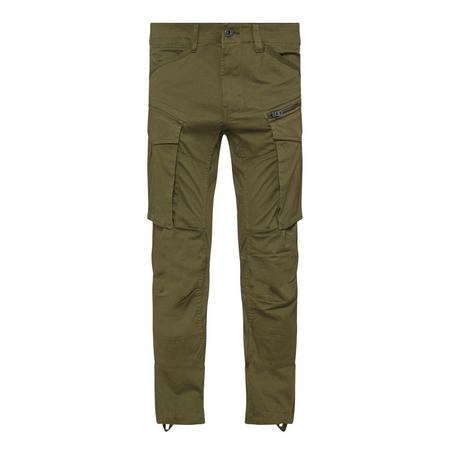 Rovic Tapered Cargo Trousers Green