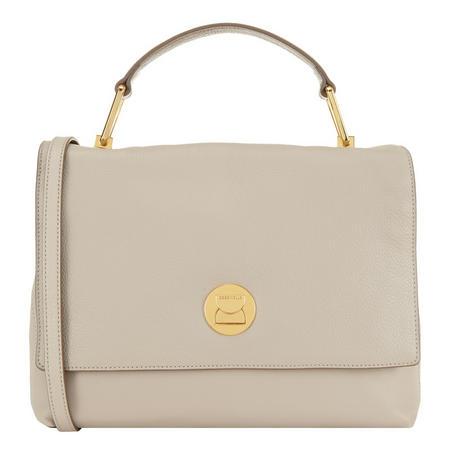 Liya Flap Shoulder Bag Beige