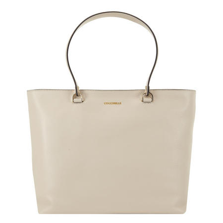 Kyla Top Zip Shopper Beige