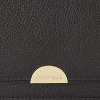 Flap Crossbody Bag Black