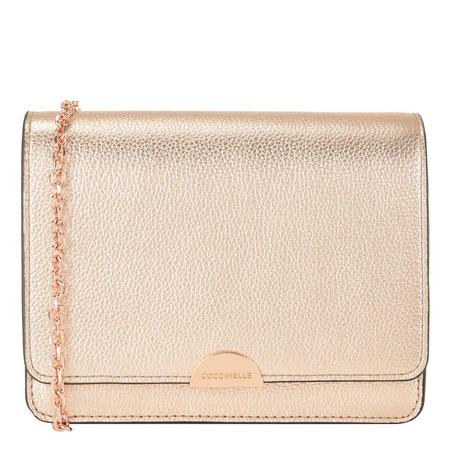 Flap Crossbody Bag Metallic