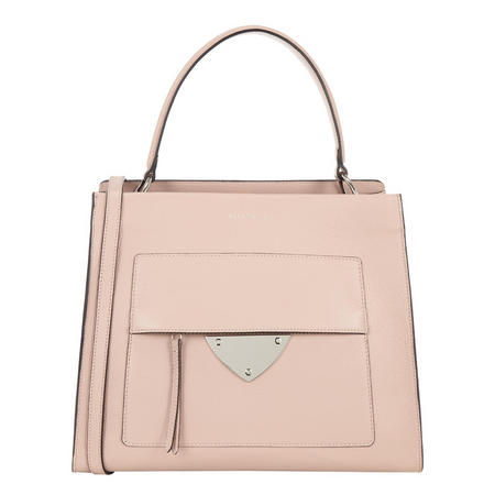 Leather Lady Bag Large Pink