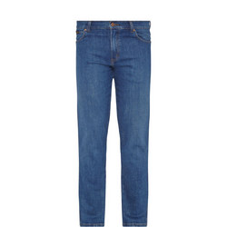 Original Straight Jeans Navy